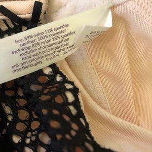 Cacique Intimates & Sleepwear - Cacique underwire bra with black lace overlay 40C